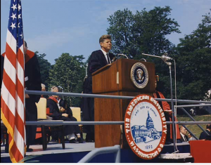 President-kennedy-at-american-university